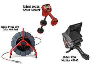 Ridgid 200 Mini Reel 14063 Navitrack Scout Locator 19238 Cs6 45143