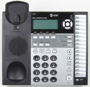At t 1070 4 line Corded Small Business System Office Phone