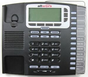 Allworx 9212l Voip Poe 12 line Display Office Phone