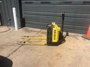 Hyster Electric Pallet Jack Lift Truck