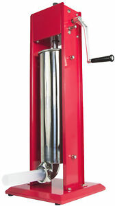 Vivo Sausage Stuffer Vertical Dual Gear Stainless Steel 7l 15lb 15 Pounds Meat