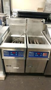 Pitco 14s chh01 Digital Front Nat gas 40lb Fryer 115v 1ph