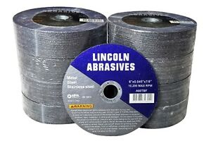 200 Pc 6 X 045 X 7 8 Cut Off Wheels Stainless Steel Metal Cutting Discs