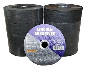 200 Pc 6 X 1 16 X 7 8 Cut Off Wheels Stainless Steel Metal Cutting Discs