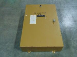 Used 100 Amp Kohler Automatic Transfer Switch 56e9574 277 480v