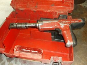 Hilti Dx 35 Powder Actuated Tool W case Fully Tested Cleaned Free Shipping