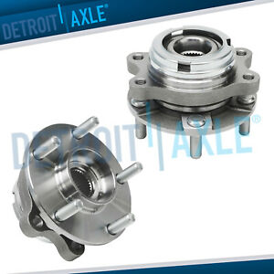 For 2014 2015 2016 2017 Nissan Altima Front Wheel Bearing And Hub Assy Pair