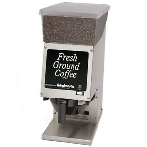 Grindmaster 190ss Single Hopper 6 Lb Coffee Grinder 120v