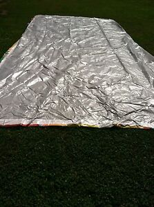 4 Used Repurposed Billboard Banner tarp