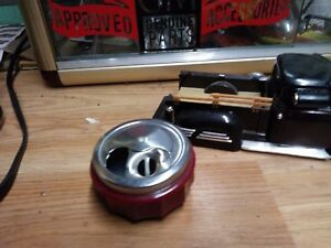 Vintage Car Accessory Hollywood Ashtray Magnetic
