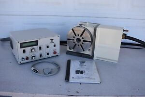 Used Yuasa Udx 22001 Cnc 4th Axis Rotary Table Indexer With Control Udnc 100