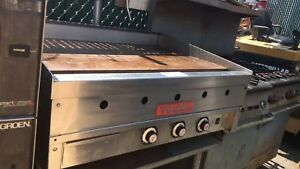 Vulcan 936a Heavy Duty Commercial Griddle 36 Natural Gas Used Restaurant Kitchen