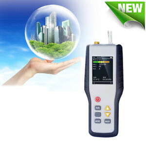 Pm2 5 Detector Particle Counter Dust Air Quality Temperature Humidity Meter 50s