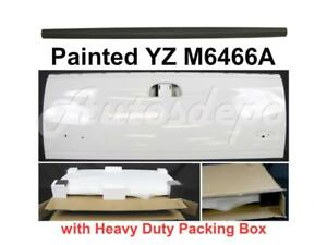 Painted White Tailgate Upper Cap Molding For Ford Super Duty F250 F350 F450