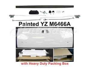 Painted White Tailgate Hardware Blk Upper Cap For Ford F250 F350 F450 1999 2007