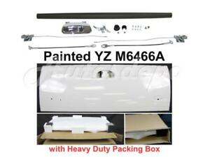 Painted White Tailgate Hardware Chr Upper Cap For Ford F250 F350 F450 1999 2007