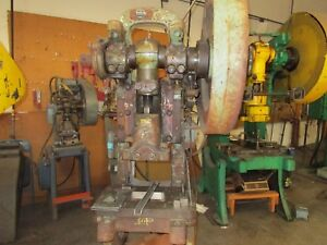 Federal No 3 32 Ton Mechanical Stamping Press Punch