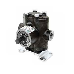 Hypro Twin Piston Pump 5 8 Solid Shaft cw Ccw 500 Psi 1 5 3 Gpm 5320cr