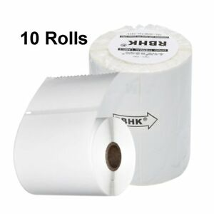 10 Rolls Direct Thermal Shipping Labels 220 roll 4x6 Compatible Dymo 4xl 1744907