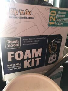 New Touch N Seal Spray Foam Roof Insulation Kit 3 0 Pcf 120 Bf Expired 3 2018