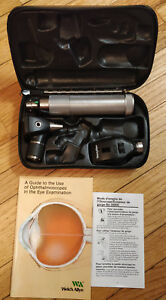 Welch Allyn 97100 Ophthalmoscope Otoscope Diagnostic Set