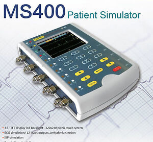Ms400 Multi parameter Patient Simulator ecg Simulator touch Screen Usa Contec