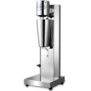220v Commercial Electric Milk Tea Drink Mixer Milkshake Machine Stainless Steel