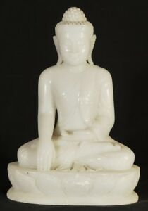 New Hand Carved Marble Buddha Statue From Burma Antique Buddha Statues