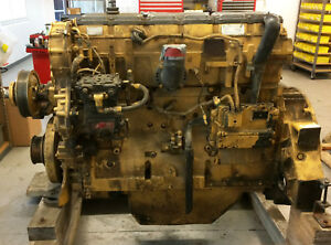 Caterpillar Cat C18 Diesel Engine cat 651 Scraper S n Rhx Ar 283 3530 No Core