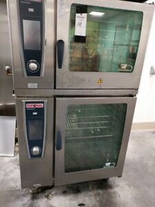 Rational Sccwe62 102 Double Electric Combi Oven With 5 Senses 480v Free Ship