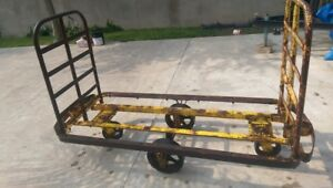 Vintage Industrial Factory Cart Train Cart