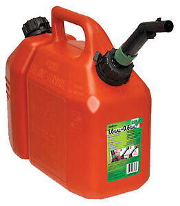 Plastic Chain Saw Gas Oil Can