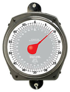 Industrial Hanging Scale Dial 70 lb Capacity
