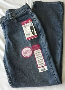 NWT RIDERS by Lee Classic Fit Misses size 10 Petite Slender Stretch jeans