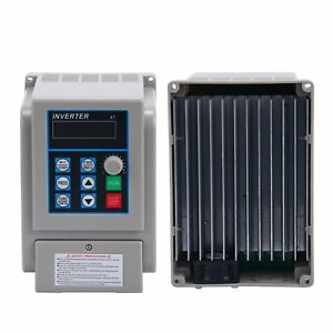 Ac220v 1 5kw 8a Vfd Single phase Speed Control Variable Frequency Drive Inverter