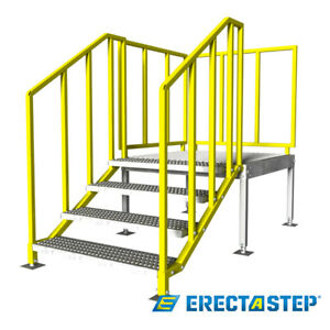 Osha Portable Stairs Right Entry