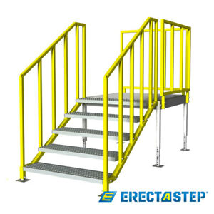 Osha Portable Stairs Left Entry