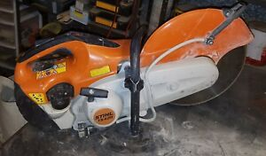 Stihl Diamond Blade Cement Saw 14 works Just Needs Tlc ts420 local Pick Up Only