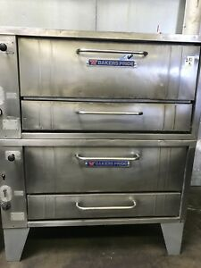 Used Gas Pizza Oven Baker Pride