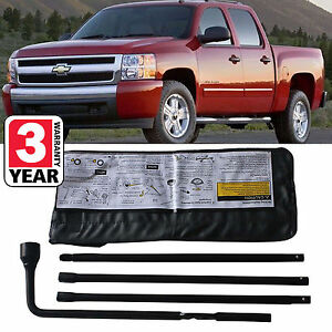 For Chevy Silverado 1500 Car Truck Spare Tire Wheel Tool Kit Tire Accessories