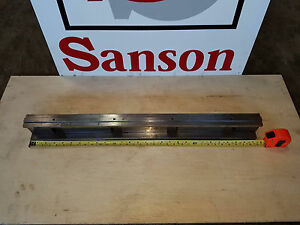 Press Brake Die Holder With Rail 2 953 Tall 32 87 Long See Notes Sansonnw