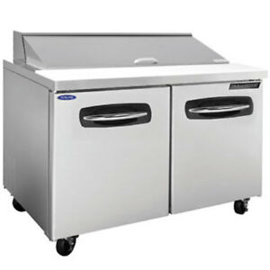 Norlake Nlsp36 10 Refrigerated Counter Sandwich Salad Prep Table 10 1 6 Size