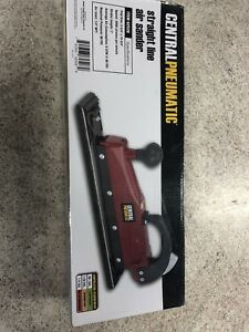 Central Pneumatic Straight Line Air File Sander New