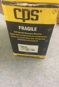 New Cps Tr21s Pro set Refrigerant Recovery Machine 220v