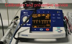 Phillips Heartstart Xl Defibrillator Calibration And Preventive Service