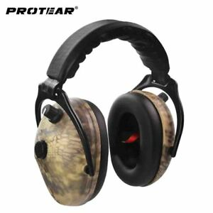 Electronic Ear Protection Hunting Ear Muff Tactical Headset Hearing Ear Protect