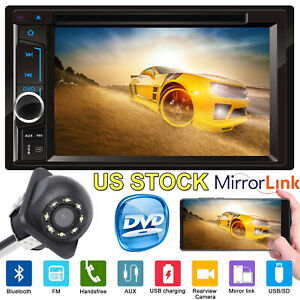 Car Stereo For Chevrolet Gmc 6 2 2din Hd Radio Head Unit Player With Camera