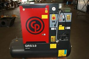 Air Compressor dryer Combo Chicago Pneumatic Excellent Condition Low Hours