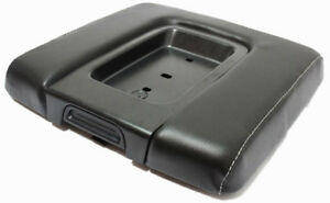 Real Leather Wide Gray Stitch Console Lid Cover Fit 14 18 Chevy Silverado Sierra