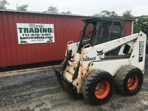 1997 Bobcat 953 Skid Steer Loader W Cab No Door